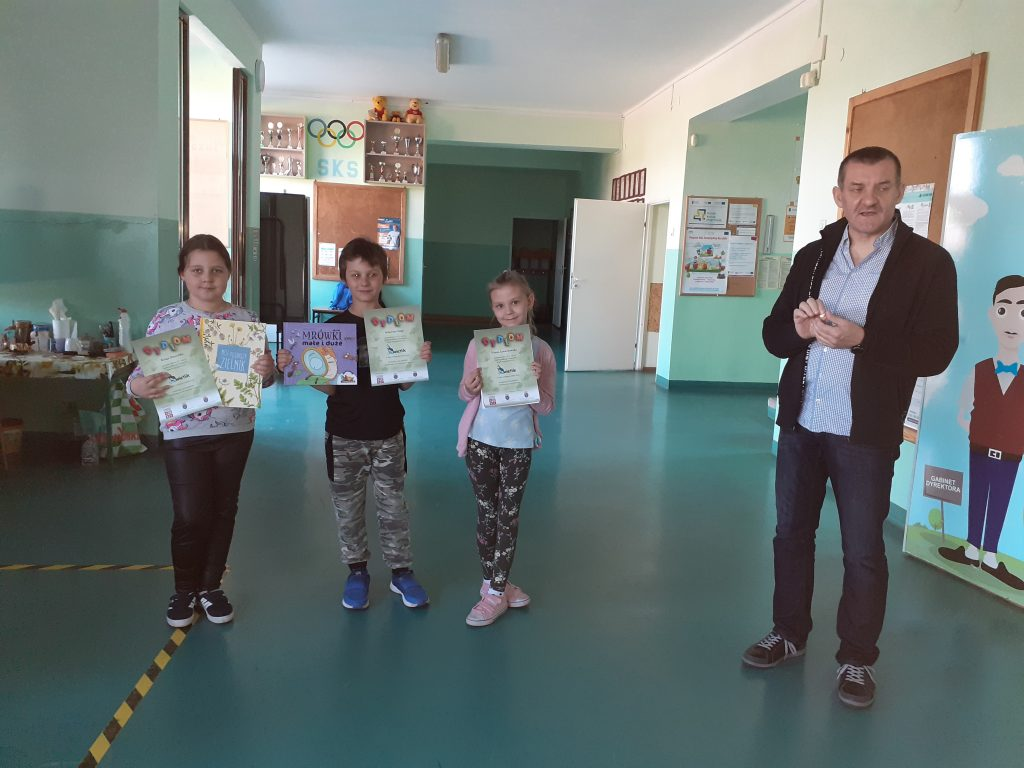 Kinga, Sebastian , Hania