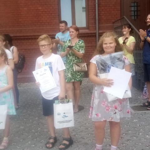 Laureaci konkursu Milena i Piotrek
