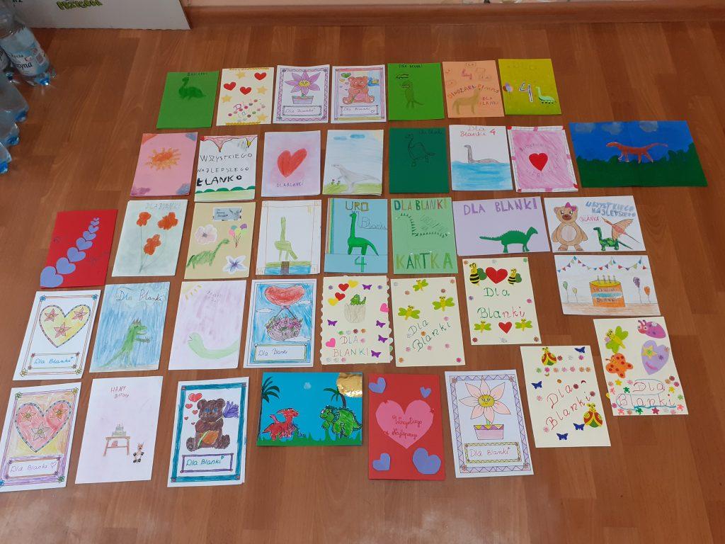 Kartki dla Blanki