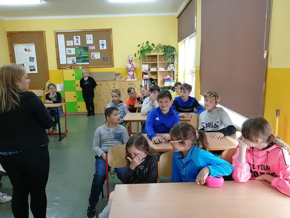 Uczniowie klas 4-6