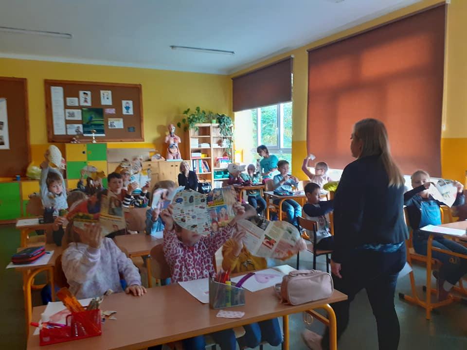 Dzieci z klas 1-3